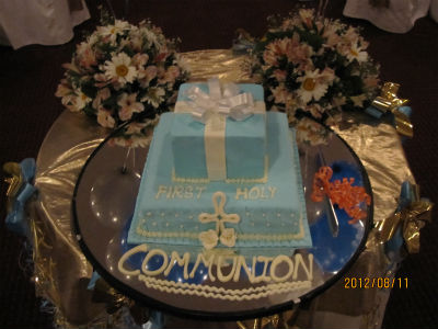 First Holly Communion Celebration